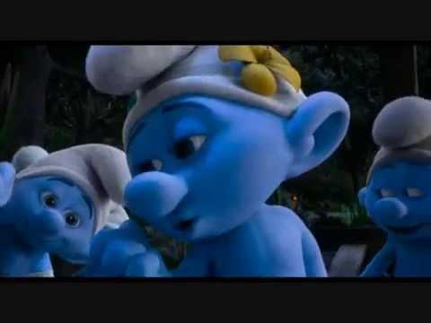 The Smurfs 2 (Ending song) Ooh La La (Swedish)