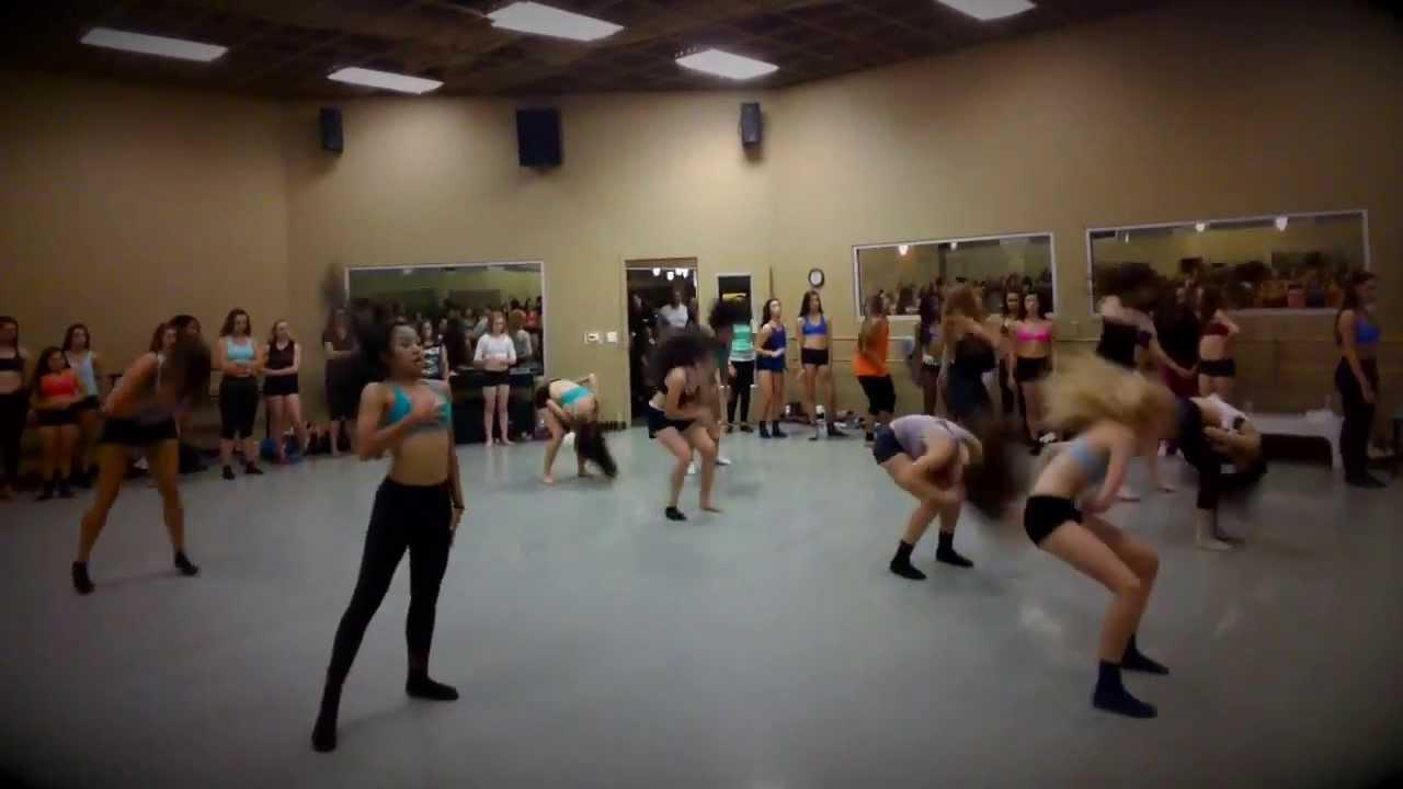 Brian Friedman Master Class At The Dance Studio Of Fresno