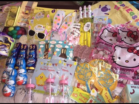 * HUGE, EASTER HAUL & INC WHATS IN THE GIRLS EASTER BASKETS 2016*