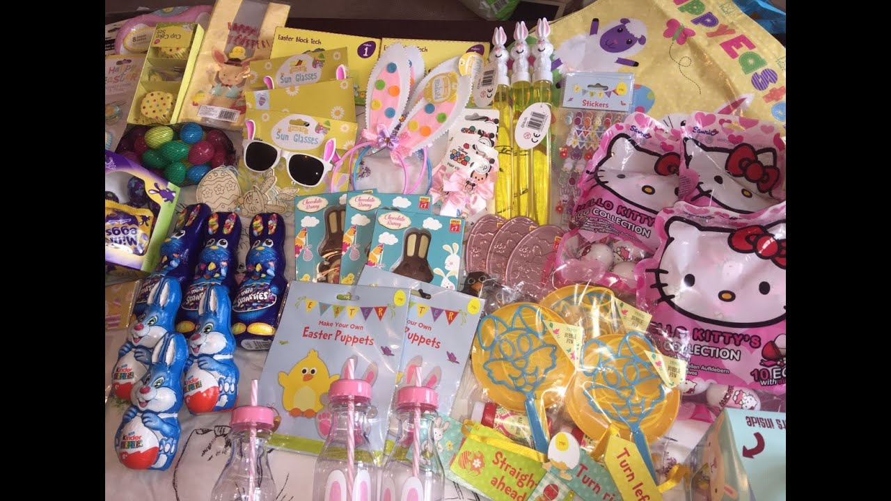Huge easter haul inc whats in the girls easter baskets 2016 huge easter haul inc whats in the girls easter baskets 2016 youtube negle Image collections