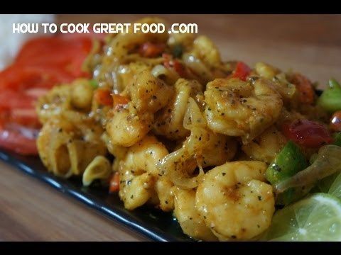 Jamaican Pepper Shrimp Blazing Prawns Recipe