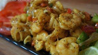 Jamaican Pepper Shrimp Blazing Prawns Recipe