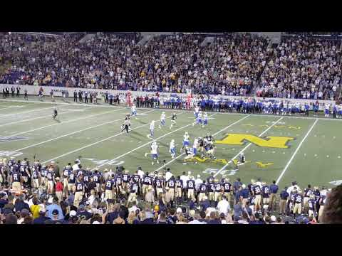 Navy vs Air Force football 2017 - Final Play