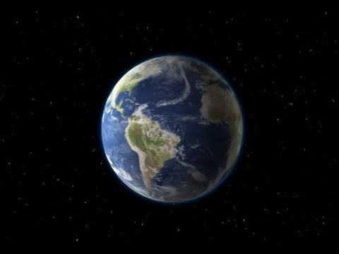 Planet Earth from Space CGI Green Screen YouTube