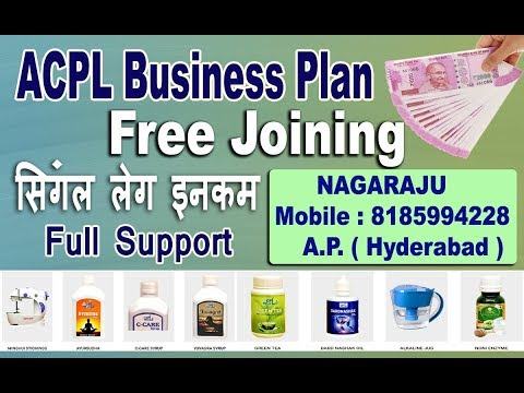 ACPL World Full Business Plan | ACPL AP Hyderabad  Leader 8185994228| Full Detail and Support