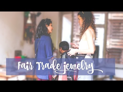 Why I SUPPORT FAIR TRADE jewelry - RTW Vlog #2 (English)