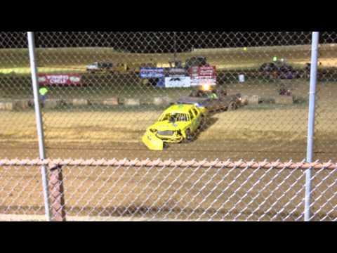 Baton Rouge Raceway: Bumper Goes Crunch