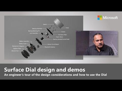 Surface Dial ganha novo vídeo de divulgação da Microsoft