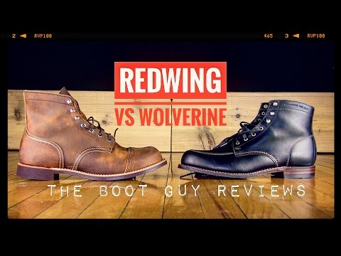 a265ef05850 IRON RANGER #8085 VS 1000 MILE COURTLAND [ The Boot Guy Reviews ...