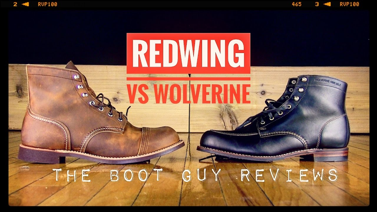 07edd96297c IRON RANGER #8085 VS 1000 MILE COURTLAND [ The Boot Guy Reviews ]