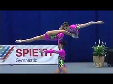 Русские порвали всех!!!! Невероятные русские гимнастки!!!