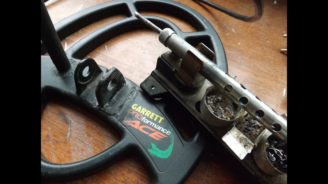 Ремонт, распайка катушки металлоискателя garrett ace 250/350.