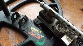 Ремонт, розпаювання котушки металошукача Garrett ACE 250/350