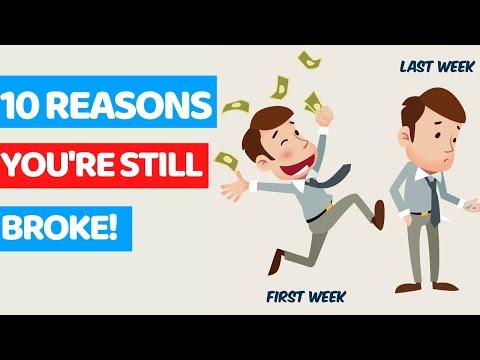 10 REASONS Why You'll Always Be Broke