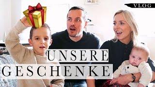Das haben wir uns geschenkt ! | Familien-Vlog | Weihnachten 2018