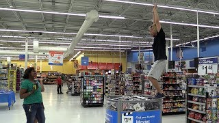 (Not) Swan Diving Into the Movie Stack at Walmart!