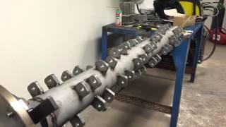 Rotor to homemade heavy duty flail mower Part 2/3