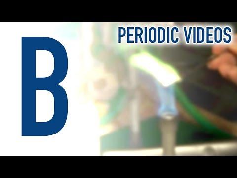 Boron - Periodic Table of Videos