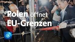 Corona-Pandemie: Polen öffnet seine EU-Grenzen wieder