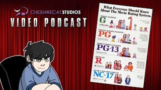 Movie Ratings are Bullshit + the Bechdel Test Nonsense! | CheshireCatStudios Video Podcast