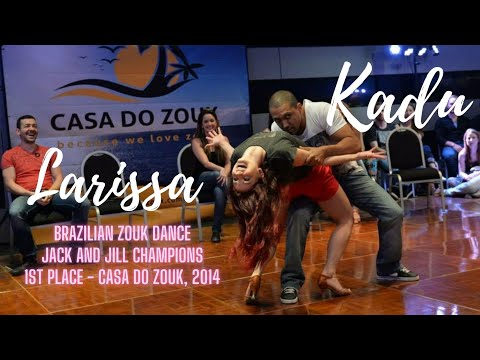 Brazilian Zouk Invitational Jack & Jill 1st Place - Kadu & Larissa