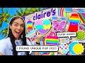 Fidget Toy Shopping at Claire's!🤑💰🌈 *SUPER RARE Pop It Fidgets*🌈