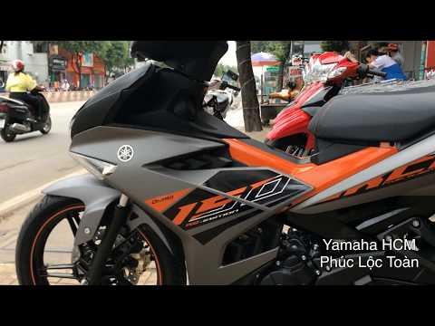 Yamaha Exciter RC 2019 Grey Orange Black - Xám Cam Đen