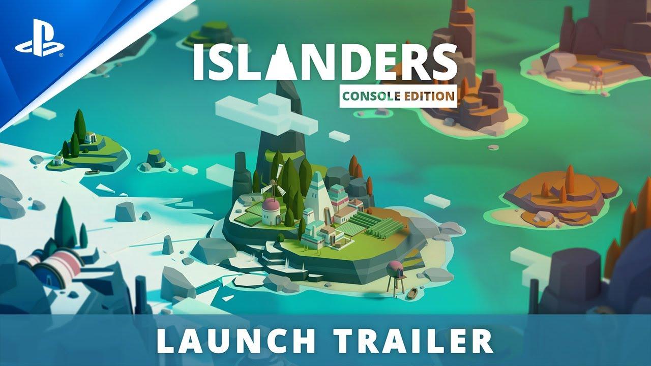 Islanders: Console Edition - Launch Trailer | PS4