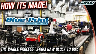 BluePrint Engines Factory Full Tour & Behind The Scenes: How Does a Crate Engine Get Made?
