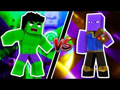 Minecraft: THANOS VS HUCK *quem ganhar*《Gabriel 》