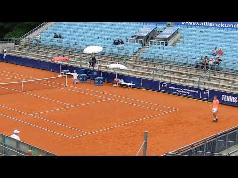 Rudi Molleker vs. Jack Draper Tennis German Juniors Berlin 2017