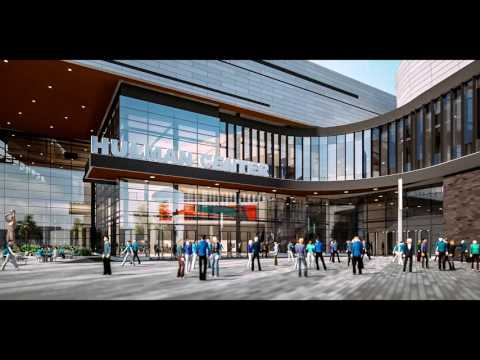 Hulman Center Animation