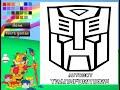 Transformers Cartoon Game - Transformers Coloring Games