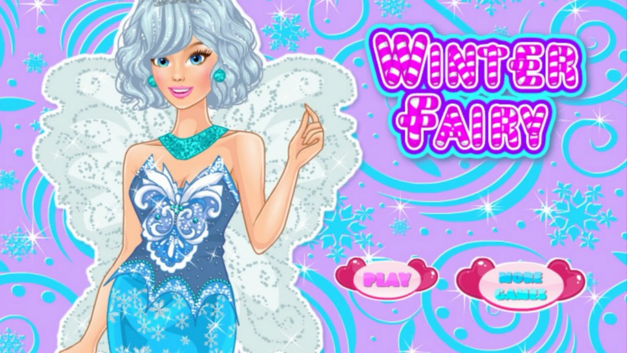 Dress up fairy games - Winter Fairy Dress Up Best Fairy Girl Game 2015 Full Video Game