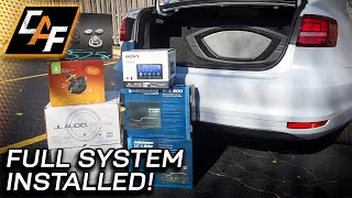 Car Audio System COMPLETE! What did I BUILD & INSTALL?