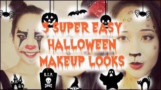 Hướng Dẫn Trang Điểm: 3 Kiểu Hoá Trang Halloween Siêu Dễ