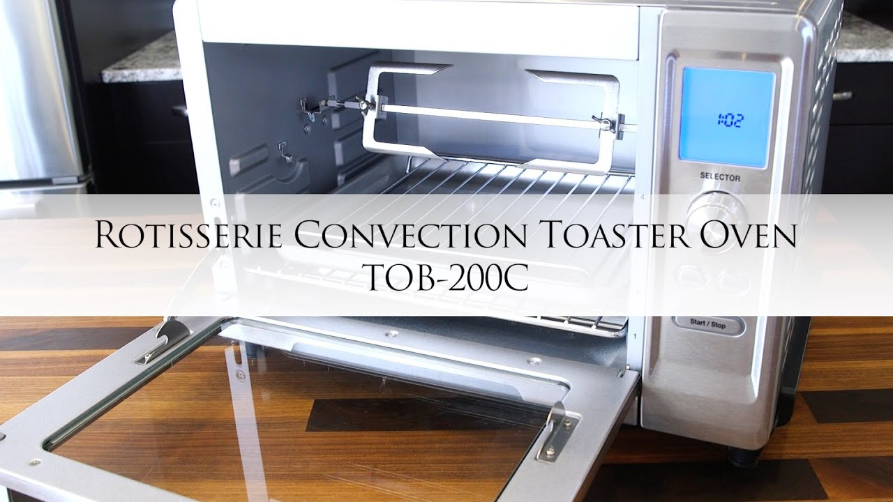 Cuisinart Rotisserie Convection Toaster Oven with Chef Jonathan