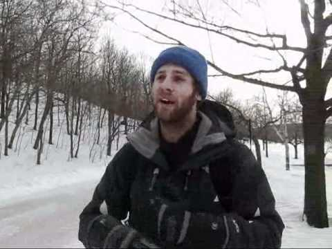Montreal Travel: Snowshoeing on Mount Royal