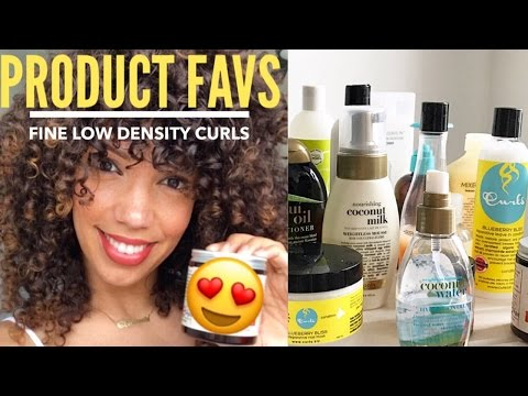 THE BEST CURLY HAIR PRODUCTS FOR FINE/LOW DENSITY CURLS
