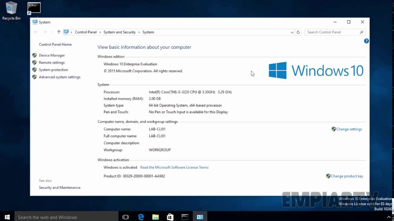How to Join a Windows 10 PC to a Domain - YouTube