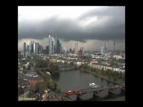 Böenfront Frankfurt am Main (Zeitraffer)