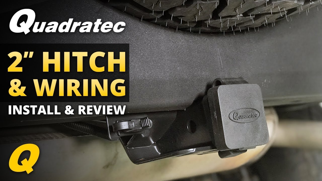 Jeep Wrangler Hitch Trailer Wiring Harness Install Review For Tj 2007 2018 Jk