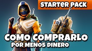 🤑 how to BUY the MOST CHEAP STARTER PACK 🤑 is it worth it? EXPLANATION ? FORTNITE battle royale