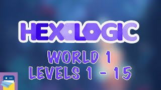Hexologic: Levels 1 2 3 4 5 6 7 8 9 10 11 12 13 14 15 Walkthrough Guide and Gameplay (by MYTHICOWL)