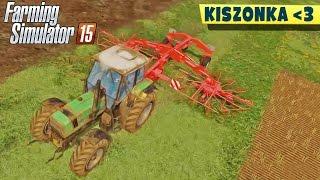 Produkcja kiszonki! Suszenie trawy #4 | Farming Simulator 2015