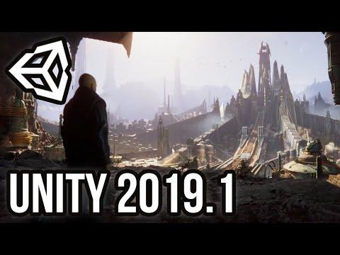 Unity 2019.1 [Обзор] - DOTS, высокая производительность, и удобный редактор