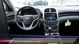 2016 Chevrolet Malibu Limited Odessa TX GF114396
