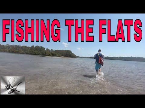 FISHING THE FLATS | FISHING & COOKING |THEHOOKANDTHECOOK