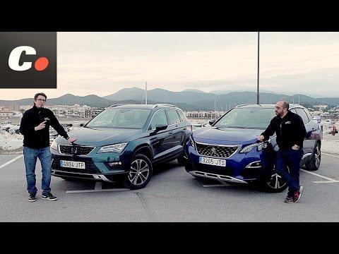 Peugeot 3008 vs Seat Ateca SUV | Comparativa | Prueba / Test / Review en español | coches.net
