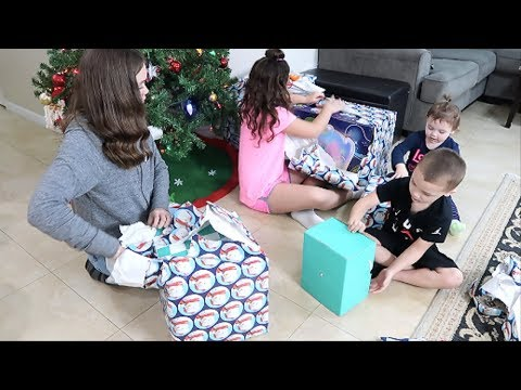 Kids Opening Early Christmas Presents 2018!